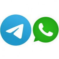 Telegram и WhatsApp