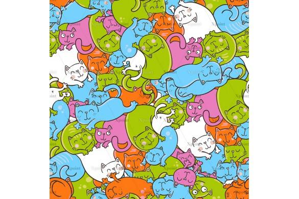 0037.02-F   кошки в лукошке